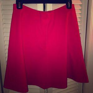 Hot pink flip skirt